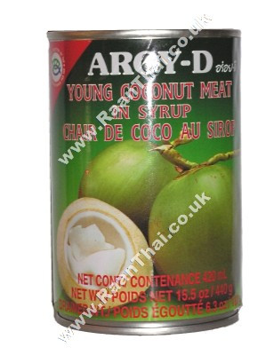 Young Coconut Meat in Syrup - AROY-D