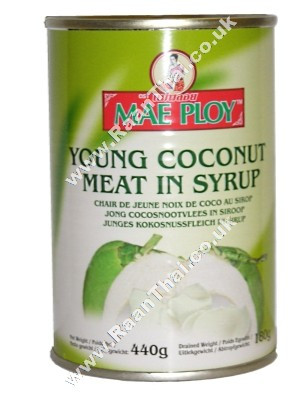 Young Coconut Meat in Syrup - MAE PLOY