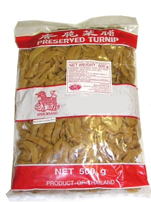 Preserved Turnip (Sliced) - KIRIN