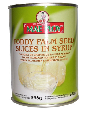 Sliced Toddy Palm in Syrup - MAE PLOY