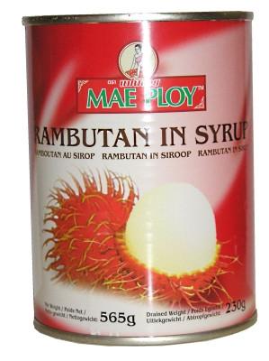 Rambutan in Syrup - MAE PLOY