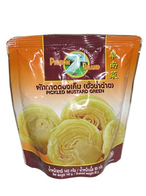 Pickled Mustard Green 145g (pouch) - PIGEON