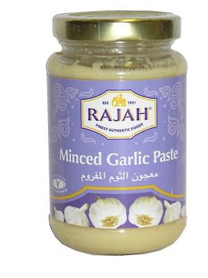 Minced Garlic Paste 210g - RAJAH