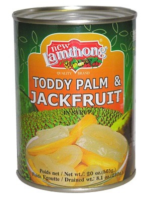 Toddy Palm & Jackfruit in Syrup - LAMTHONG