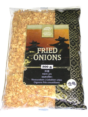 Fried Onions 500g - GOLDEN TURTLE