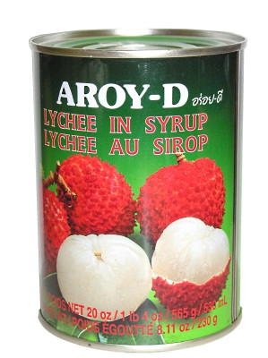 Lychees in Syrup - AROY-D