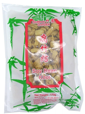 Dried Beancurd Knots - BAMBOO GARDEN