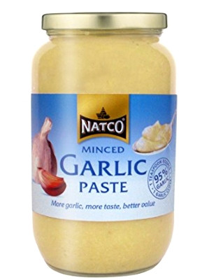 Minced Garlic Paste 1kg - NATCO