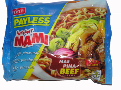 Instant !!!!Mami!!!! Noodles - Beef - PAYLESS