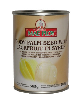Toddy Palm Seed with Jackfruit in Syrup - MAE PLOY
