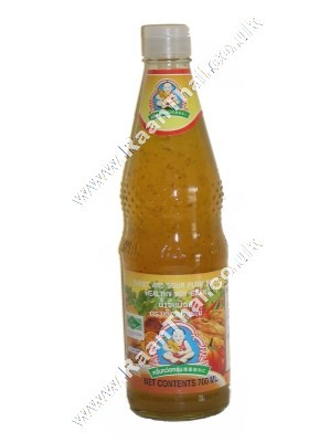 Sweet & Sour Plum Sauce 700ml. - HEALTHY BOY