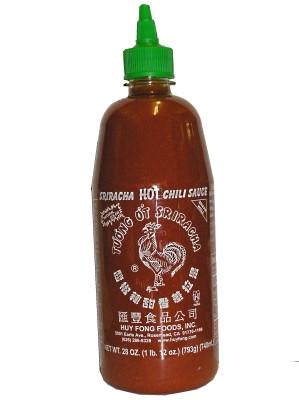 Sriracha HOT Chilli Sauce (made in USA) 740ml - HUY FONG