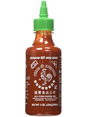 Sriracha HOT Chilli Sauce (made in USA) 266ml - HUY FONG