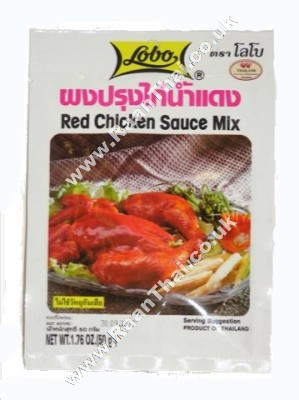 Red Chicken Sauce Mix - LOBO