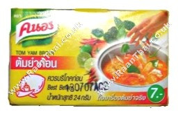 Stock Cubes - Tom Yum Flavour 24g - KNORR
