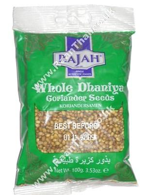 Whole Coriander Seeds 100g - RAJAH