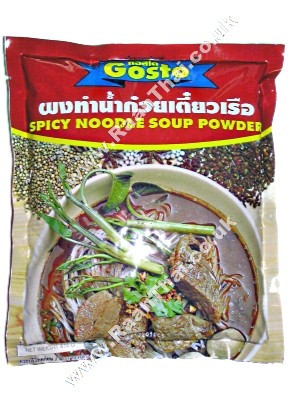 Instant Spicy Noodle Soup Powder 208g - GOSTO