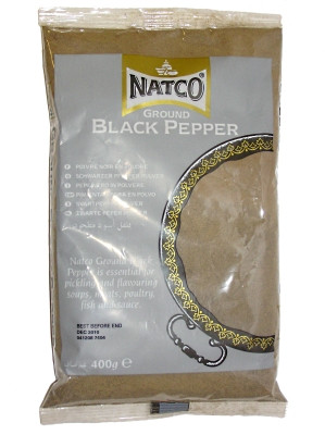 Ground Black Pepper 400g - NATCO