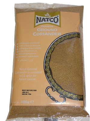 Ground Coriander 400g - NATCO