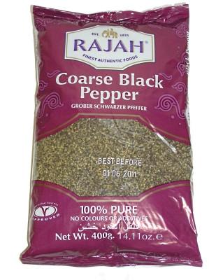 Coarse Ground Black Pepper 400g - RAJAH !!!!***SPECIAL OFFER (bb: 04/06/16)***!!!!