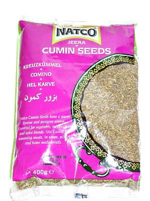 Whole Cumin 400g - NATCO