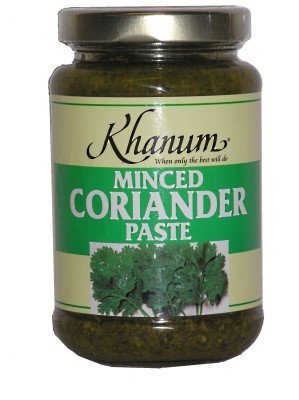 Minced Coriander Paste - KHANUM