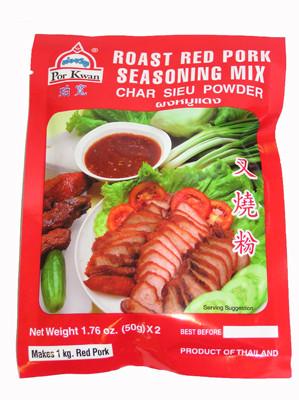 Roast Red Pork Seasoning Mix (Char Siu Powder) - POR KWAN