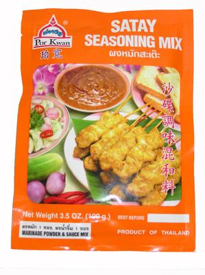 Satay Seasoning Mix - POR KWAN