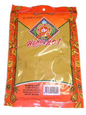 Thai Curry Powder 200g - NGUEN SOON