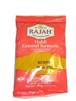 Ground Turmeric 100g - RAJAH