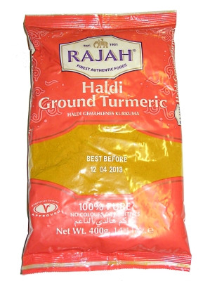 Ground Turmeric 400g - RAJAH