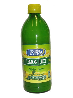 Lemon Juice 500ml - PRIDE