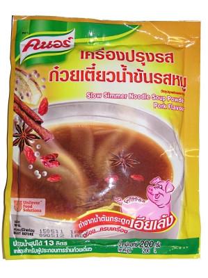 Slow Simmer Noodle Soup Powder - Pork Flavour - KNORR