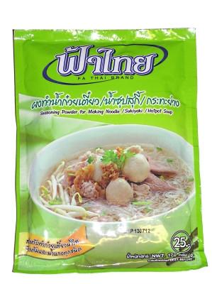 Seasoning Powder for Noodle, Sukiyaki or Hotpot Soup 170g - FA THAI