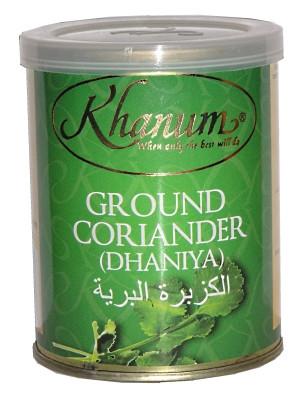 Ground Coriander 100g (tin) - KHANUM