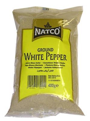 Ground White Pepper 400g - NATCO