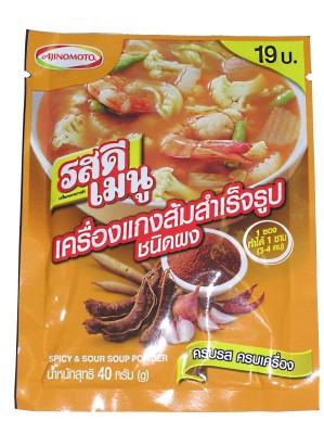 !!!!ROS DEE Menu!!!! - Spicy & Sour Soup Powder - AJINOMOTO