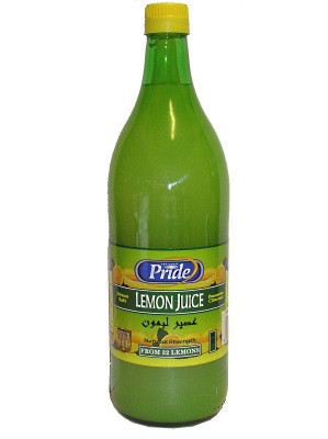 Lemon Juice 1ltr - PRIDE
