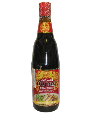 Chinese Style Sesame Oil 630ml - DOUBLE DRAGON