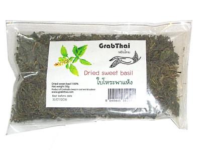Dried Sweet Basil - GRAB THAI