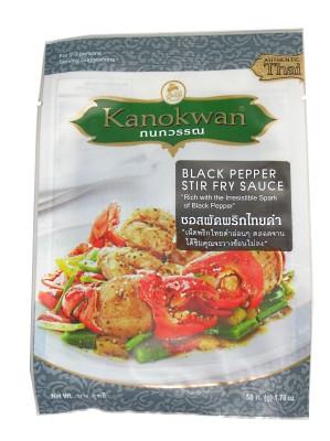 Black Pepper Stir-fry Sauce - KANOKWAN