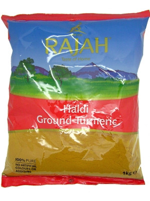 Ground Turmeric 1kg - RAJAH