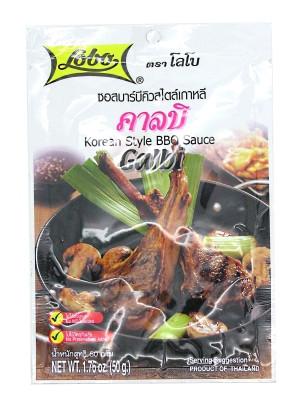 Kalbi Korean Style BBQ Sauce - LOBO