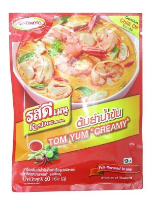 ROS DEE Menu - Tom Yum 'Creamy' Powder - AJINOMOTO