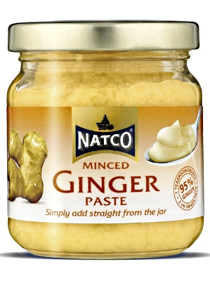 Minced Ginger Paste 190g - NATCO