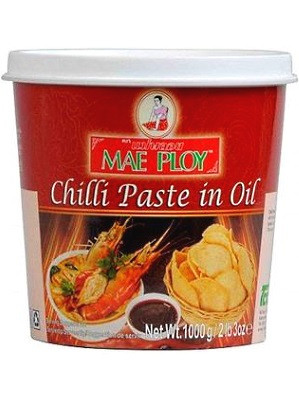Chilli Paste in Oil 1kg - MAE PLOY
