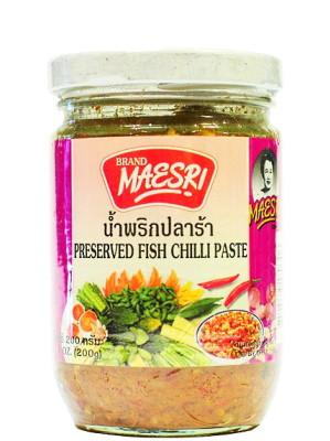 Preserved Fish Chilli Paste - MAE SRI