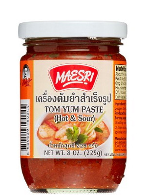 Tom Yum Paste 227g jar - MAE SRI