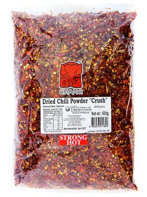Dried Chilli Flake 500g - CHANG