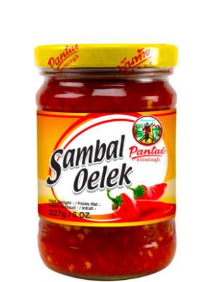 Red Chilli Paste (Sambal Oelek) - PANTAI